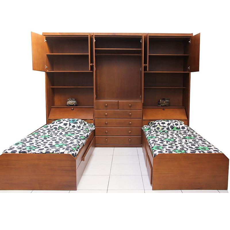 Guarda roupas 2 camas embutidas raizes m veis artefatos for Camas 2 por 2